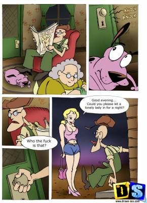 Cowardly Dog-page01 BurnButt