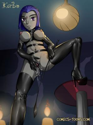 Girls Alone-01-Raven-01 BurnButt