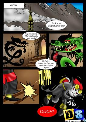Life of Xiaolin-p.1-01 BurnButt