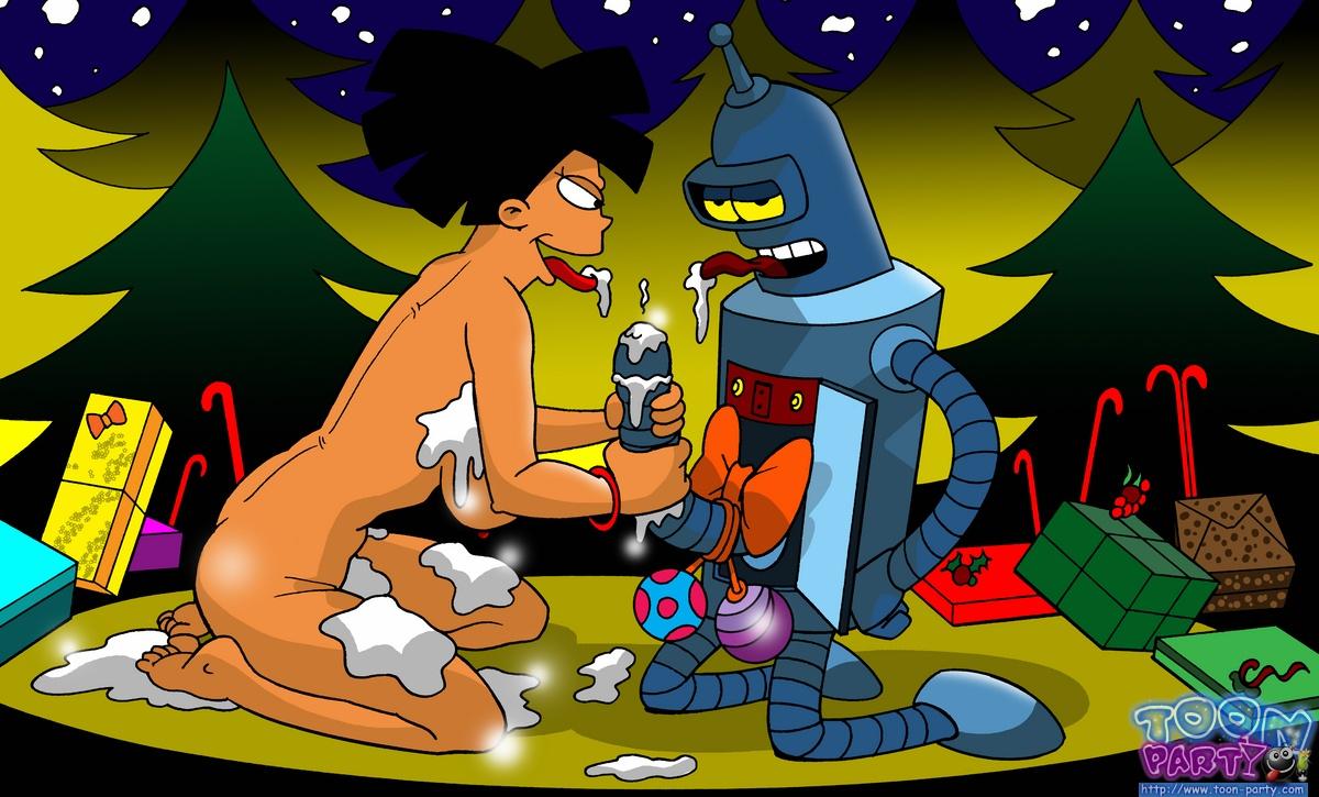 new_year09 Futurama,  xxx porn rule34