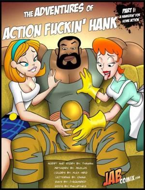 Action Fuckin Hank Part.1-001 BurnButt