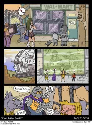 Croft Raider 2-page1 BurnButt