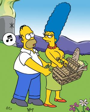 Homer And Marge - ''Picnik'' - 01 BurnButt