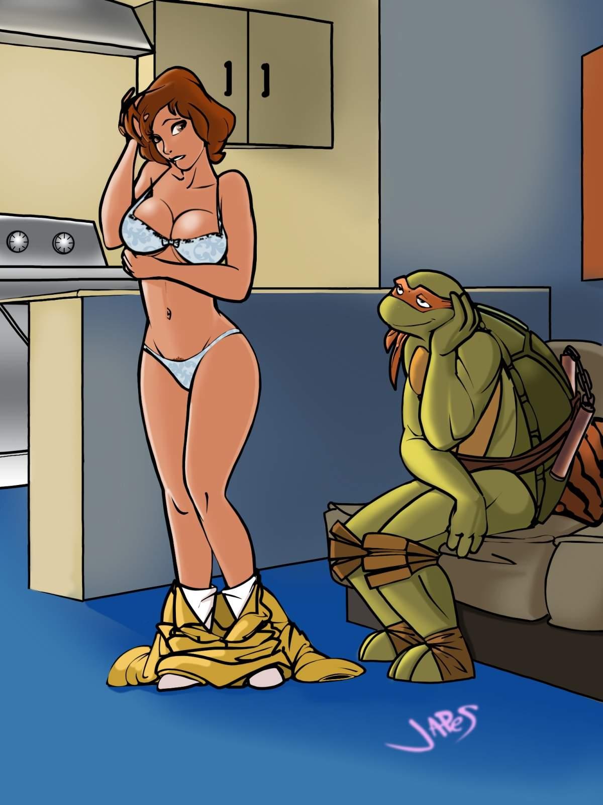 Romance April And Michelangelo - page04 Teenage Mutant Ninja Turtles,  xxx porn rule34