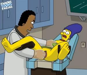 Dr. Hibbert fucks Marge 01 BurnButt