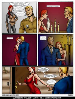 G.I. Joe BDSM -  Part_1 - Page 01 BurnButt
