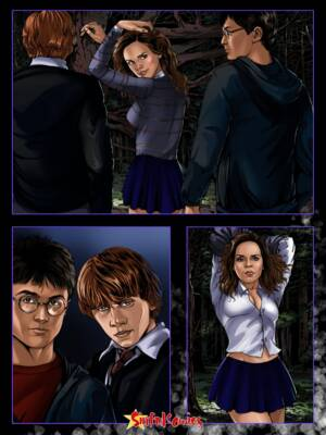 Hermione In A Dark Forest - 001 BurnButt