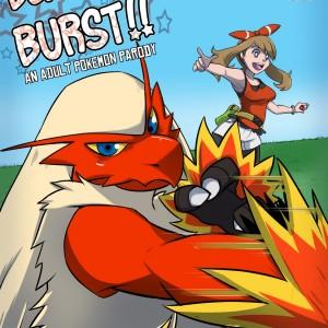 Blaziken Burst!! - 00_Cover BurnButt