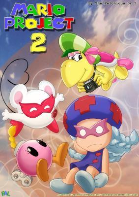 Mario Project 2 - page00 BurnButt