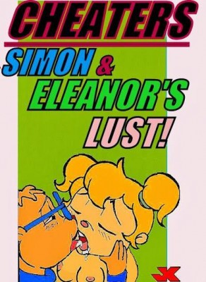 Cheaters – Simon and Eleanors Lust - 00_Cover BurnButt