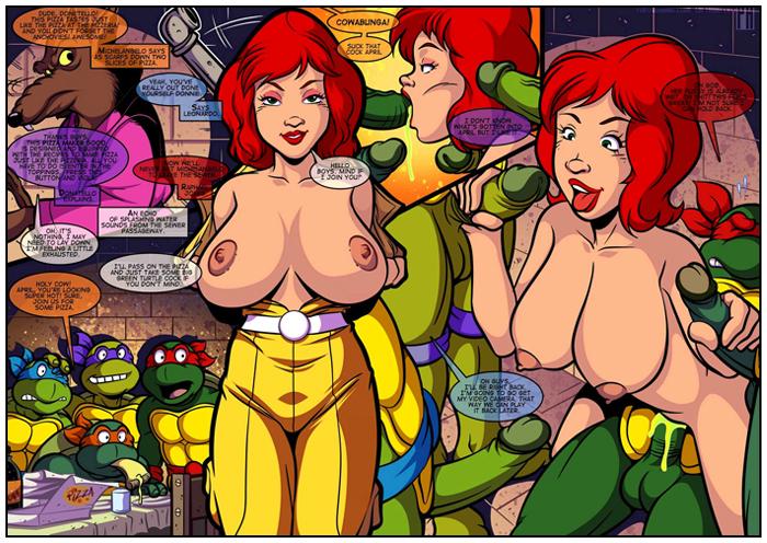 Be Quiet Numbskull - 05 Teenage Mutant Ninja Turtles,  xxx porn rule34