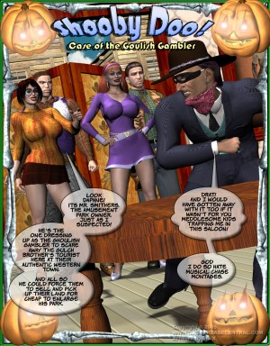 Case of the Goulish Gambler - page000 Cover BurnButt