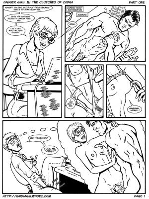 Danger_Girl_In_the_Clutches_of_Cobra_Part_1_Page_1 BurnButt