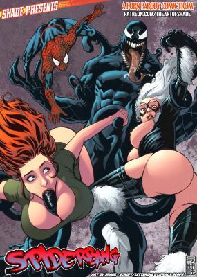 Spiderbang - 00 cover BurnButt