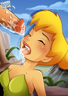 Tinkerbell Sucking And Fucking (Famous Toons Facial) - 01 BurnButt