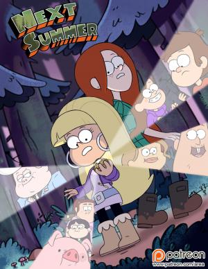 Next Summer - page00 Cover BurnButt