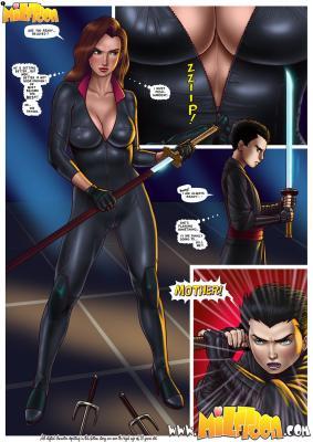 The Story About Talia al Ghul And Damian Wayne - 01 BurnButt