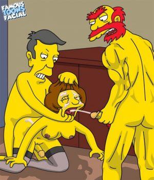 Willie with Skinner fucks Edna Krabappel 12 BurnButt