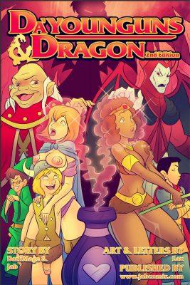 Da Younguns and Dragon 2nd Edition - 00 Cover BurnButt