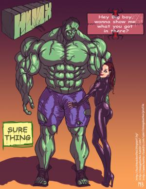 Hulk vs Black Widow - page00 Cover BurnButt