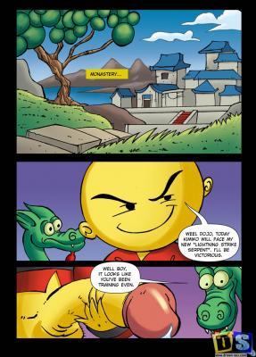 Two Snakes - xiaolin_showdown01 BurnButt