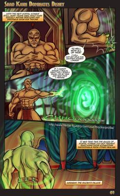 Shao Kahn Dominates Disney - page01 BurnButt