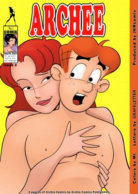 Archee 2 - page00 Cover BurnButt