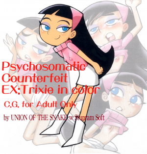 Psychosomatic Counterfeit Ex Trixie in Color - page000a Cover BurnButt