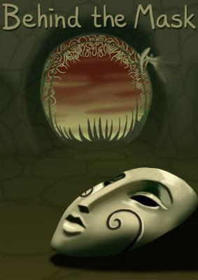 Behind the Mask - page00 Cover BurnButt
