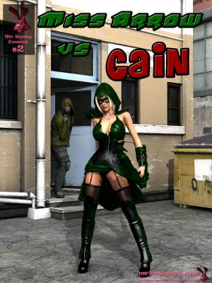 Miss Green Arrow vs Cain (English) - page00 Cover BurnButt
