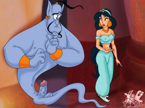 Jasmine & Blue Dick - aladdin-102_01 BurnButt