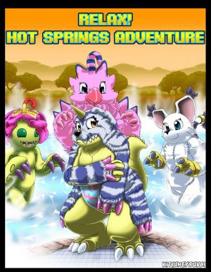 Relax! Hot Springs Adventure - page00 Cover BurnButt
