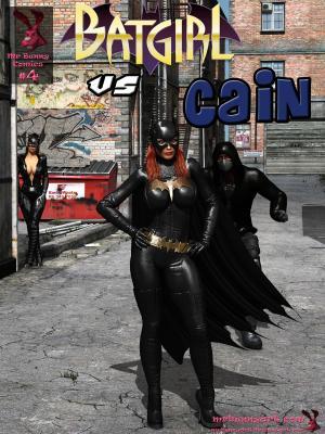 Comics #4 - Batgirl vs Cain (Chinese) - page00 Cover BurnButt