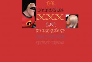 3D secretary (Spanish) - page00 Cover BurnButt