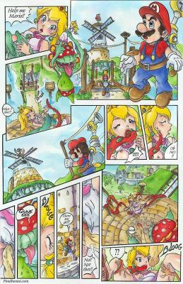 Super Mario Sunshine (English) - page01 BurnButt