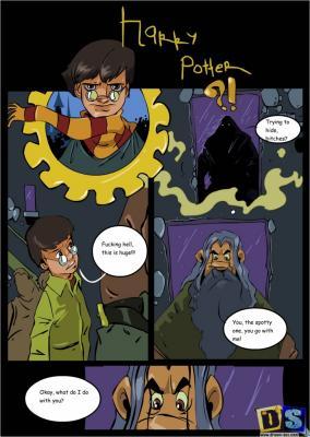Harry & First Round - page01 BurnButt