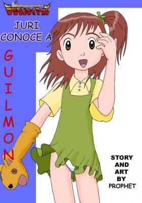 Juri Conoce A Guilmon (Spanish) - page00 Cover BurnButt