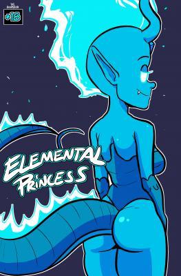 Elemental Princess - page00 Cover BurnButt