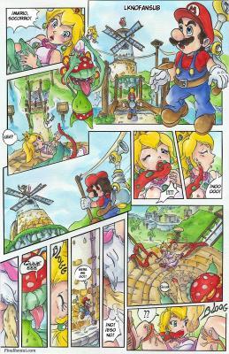 Super Mario Sunshine (Spanish) - page01 BurnButt