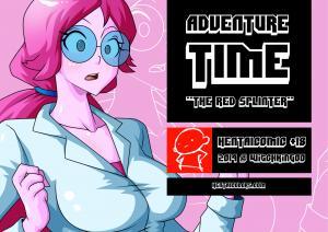 The Red Splinter - page00 Cover BurnButt