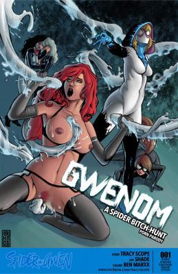 Gwenom - page00 Cover BurnButt