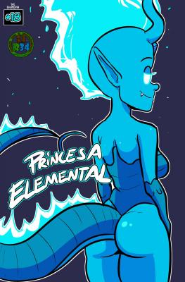 Princesa Elemental (Spanish) - page00 Cover BurnButt