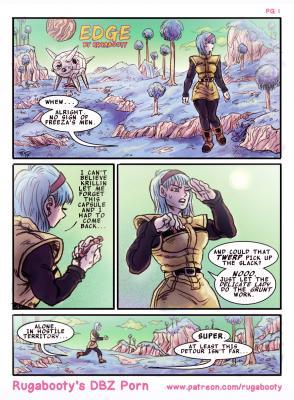 Edge - A VegeBul Comic - page01 BurnButt