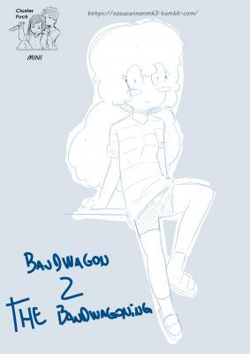 Bandwagon 2 The Bandwagoning - page00 Cover BurnButt