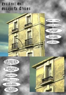 Lost in Dreams - page01 BurnButt