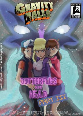 Butterflies In My Head Part 3 (Spanish) - page00 Cover BurnButt