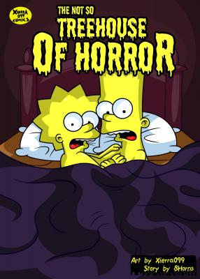 The not so Treehouse of Horror (Spanish) - page00a Cover BurnButt