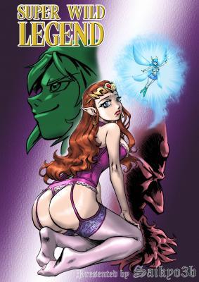 Super Wild Legend - page00 Cover BurnButt