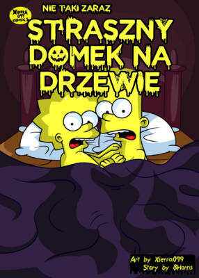 The Not So Treehouse of Horror (Polish) - page00a Cover BurnButt