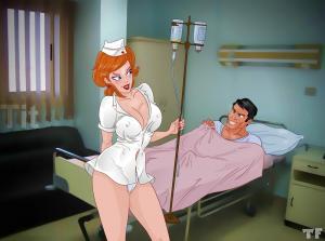 Ariel Treats Her Patient Right - 01 BurnButt